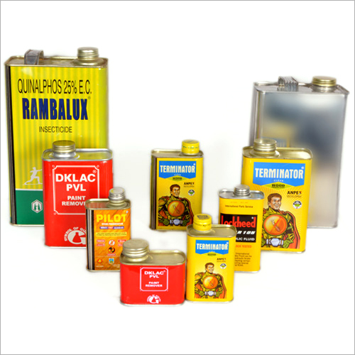 Rectangle Integrated Top Cans
