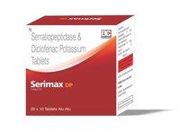 Serratiopeptidase + Diaclofenac Potassium