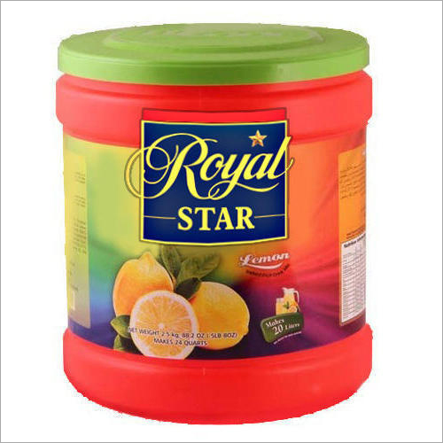 Sugar Based Instant Lemon Drink Powder
