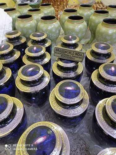 Brass Cremation Urn Funeral