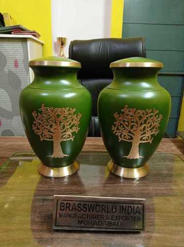 Brass Tree Of Life Cremation Urn For Ashes Funeral