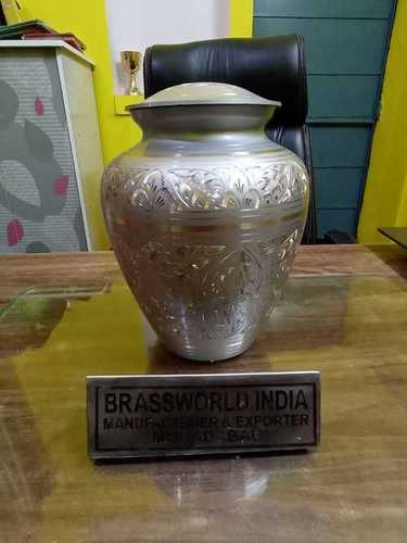 Brass Cremation Urn For Ashes Funeral