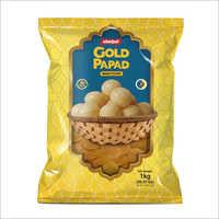1 kg Gold Papad Pani Puri