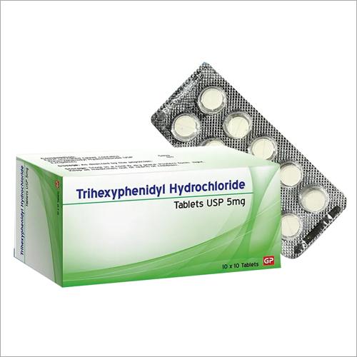 5 mg Trihexyphenidyl Hydrochloride Tablets
