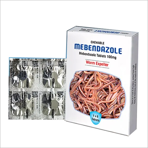 100 mg Mebendazole Tablets