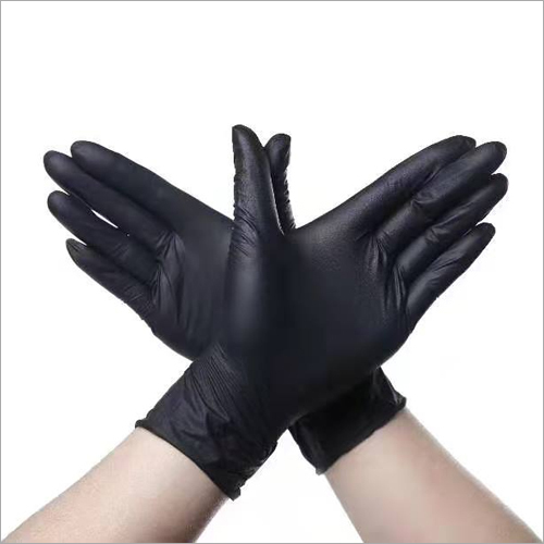 Black Non Medical Gloves