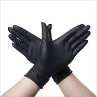 Black Non Medical Gloves