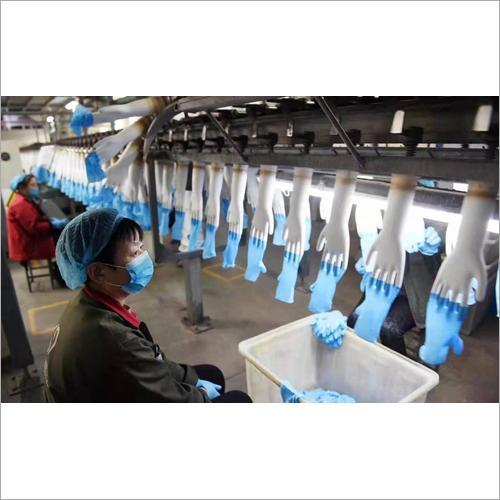 Blue Medical Gloves