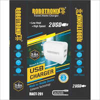 3.4Amp Dual Usb Charger