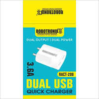 3.6A Dual USB Quick Charger