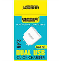 2.4A Dual USB Fast Charger
