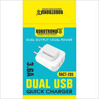 Dual USB Quick Charger