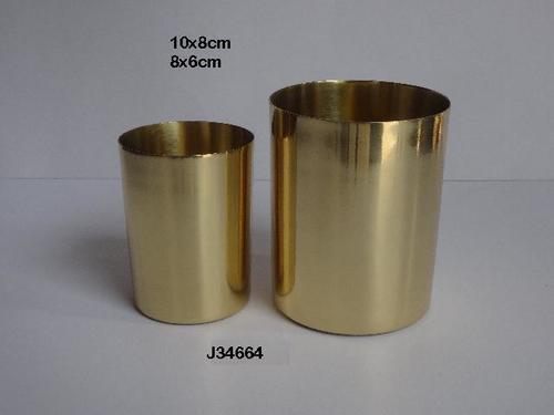 Brass  Vessels For Candles Brass Votive