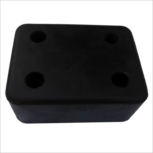Square Solid Rubber Dock Bumper