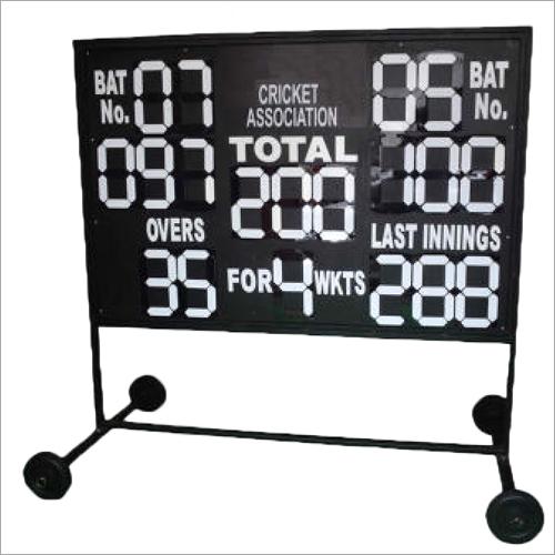 Manual Cricket Score Board