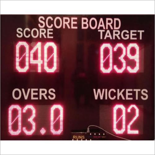 LED Cricket Score Board 6Ft x 4Ft