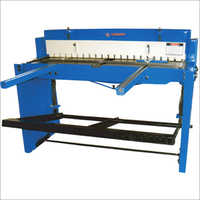 Manual Foot Operated Shearing Machine
