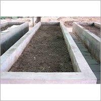 Industrial Vermi Compost Bed