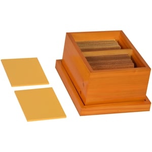Kidken Montessori Touch Tablets Wooden for Kids Early Educational Toy Gift