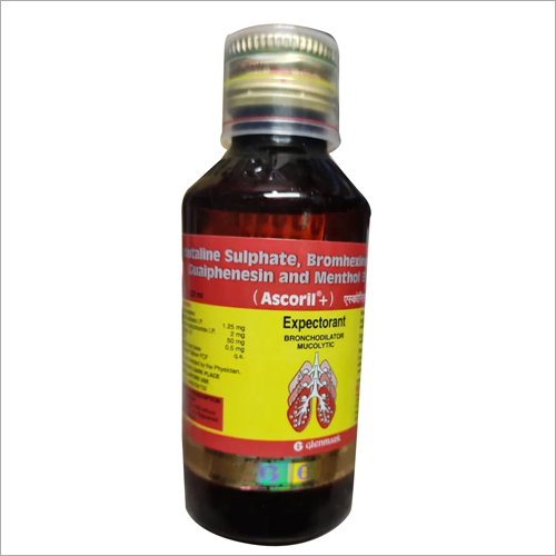 ASCORIL Sulphate Guaiphenesin and Menthol Syrup