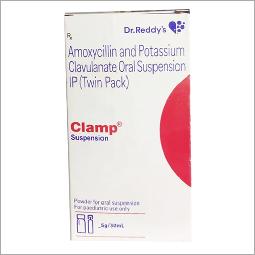 30 ml Clamp Amoxycillin and Potassium Clavulanate Oral Syrup IP