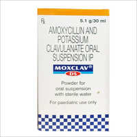 30 ml Moxclav DS Amoxycillin and Potassium Clavulanate Oral Syrup