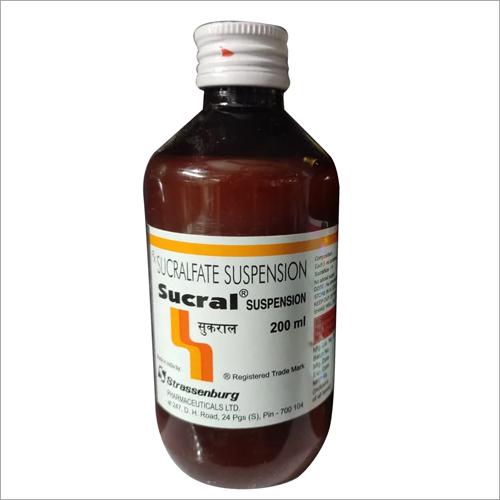 200 ml Sucralfate Suspension Syrup