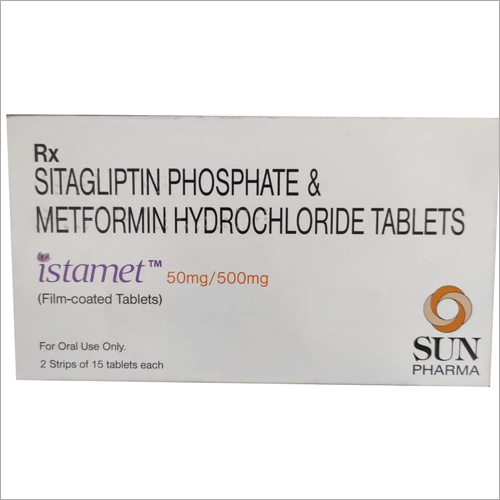 500 mg Sitagliptin Phosphate and Metformin Hydrochloride Tablets