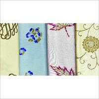 Printed Viscose Cotton Satin Fabric 240 GSM
