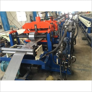 C And Z Purlin Interchangeable Roofing Tile Roll Forming Machine