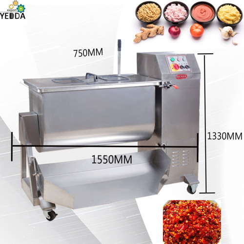 Automatic stainless steel commercial Sauce paste mixer machine