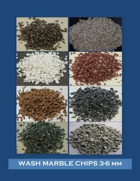 Rosa Pink Marble Sand and granular sand chips for industrial and commercial construction
