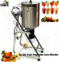 DJ-32 Commercial stainless steel green vegetable spinach paste grinder machine