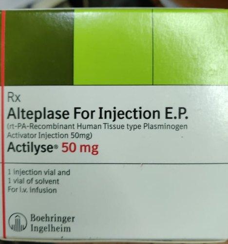 Alteplase Injection