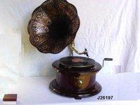 Gramophone Round Base