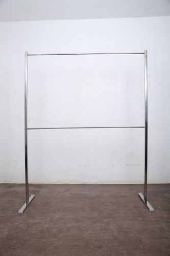Floor Display Portable SS Stand With Wheels In Pollachi