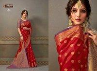 Sandhya Designer Party Wear Handloom Silk Sarees