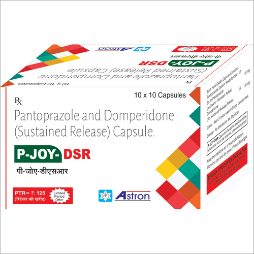 Pantoprazole and Domperidone Sustained Release Capsules