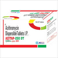 Azithromycin Dispersible Tablets