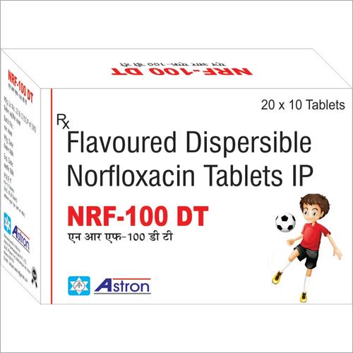 Flavoured Dispersible Norfloxacin Tablets IP