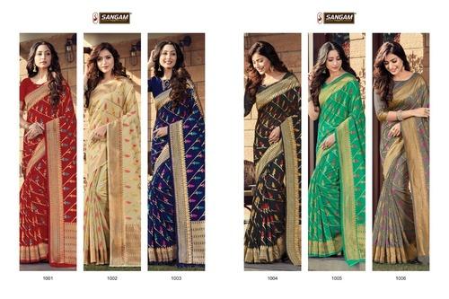 Ananya Cotton Handloom Weaving Work Sarees