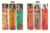 Sheesha Party Wear Cotton Handloom Sarees