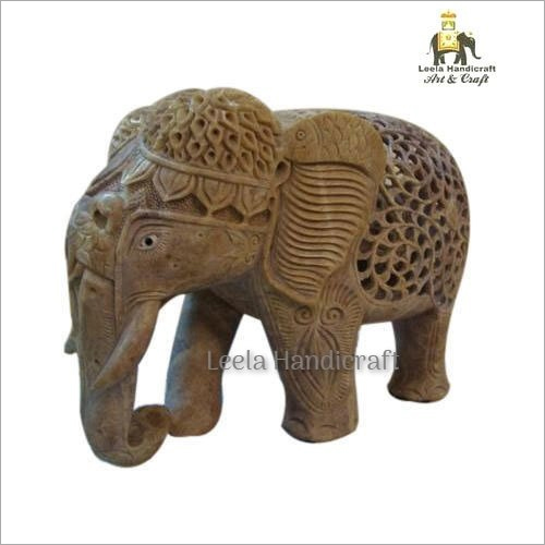 Decorative Stone Elephant Statue