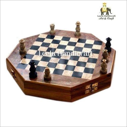 Soap Stone Chess Board Set