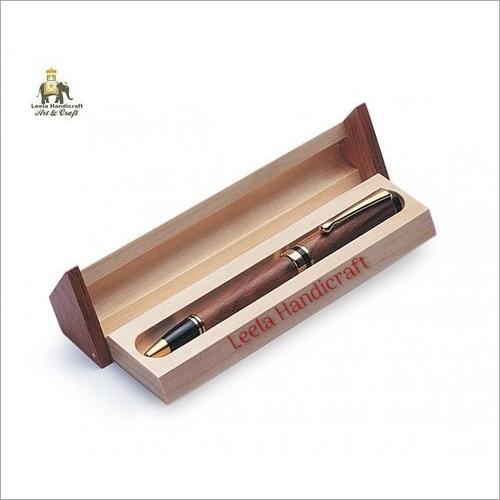 Wooden Pen Box
