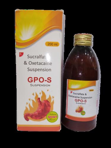 Sucralfate + Oxetacaine Suspension