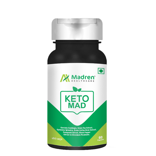 KetoMad for Weight Management 60 Vegetarian Capsules