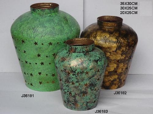 Lantern Antique Finish