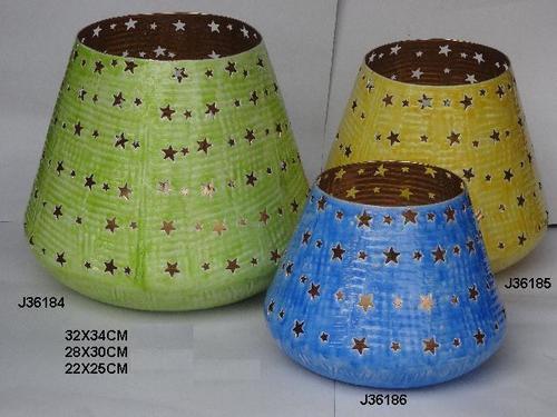 Lantern Metal Multi Colors