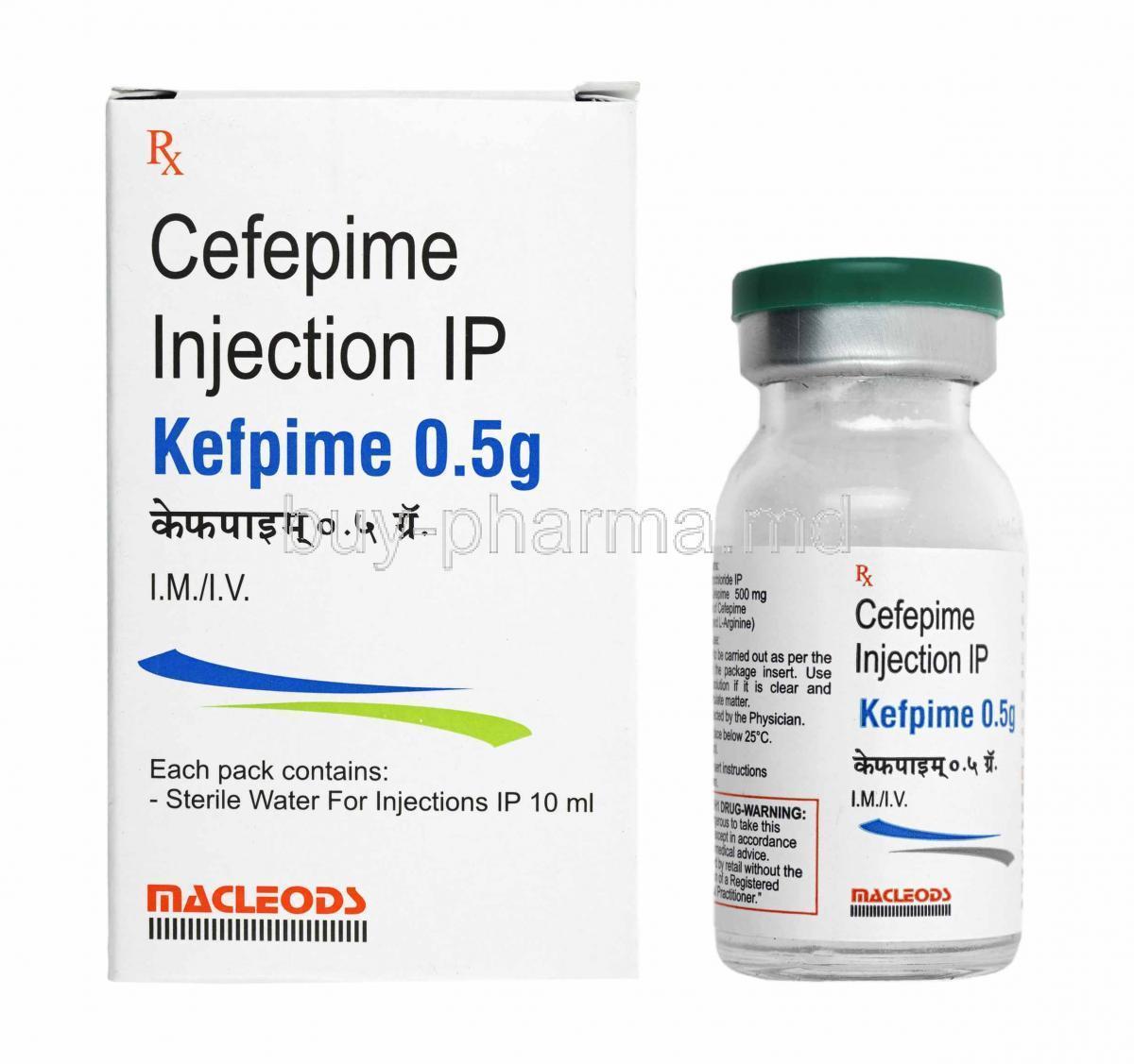 Cefepime Injection
